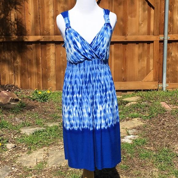 10559abfe87 Soma blue white tie dye knit dress medium. Soma.  M_5a949529c9fcdf085e3a10c7. M_5a94952dfcdc3113c8a7d207.  M_5a94952f739d482f40b5c978